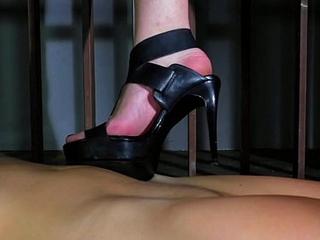 SILVIA RUBI IS Breeding MELISSA (trampling BDSM)