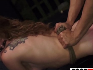 Teen Faye Ends There In BDSM Fuck