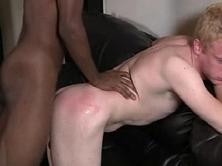 Blacks On Boys - Gay Nasty Hardcore Fuck Movie 16
