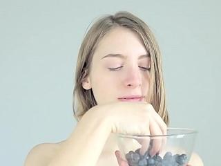 Dirty slut crushing and licking balls