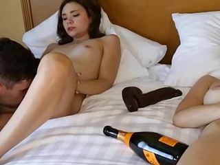 Fucking Step Sister Rhaya Shyne While Mom Is Passed Out