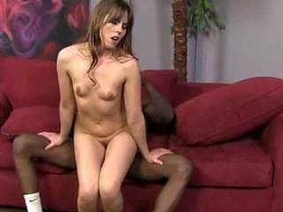Teen fucked by a huge black cock 4