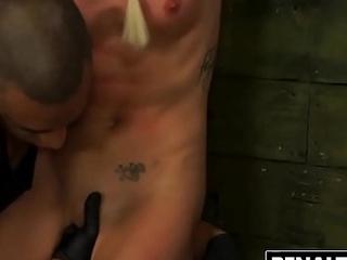 BDSM Indignity For Hot Halle Von