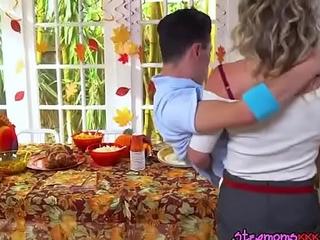 Depraved MILF Cory Chase Straddles Hung Gardener