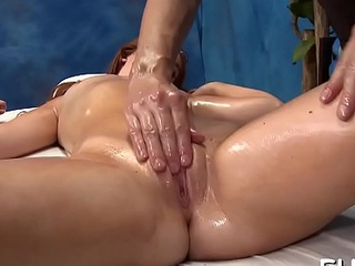 Hot sizzling gets a twat massage now fucked hard!