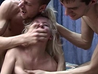 Blonde russian studied plus coercive drilled