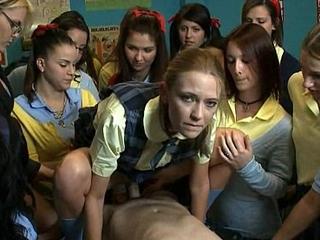 Schoolgirl transfer mess up absent - brandi beauty