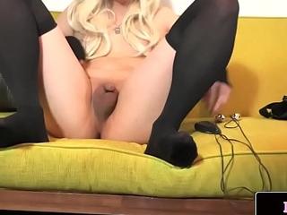 Miniature asian femboy paroxysmal her cock