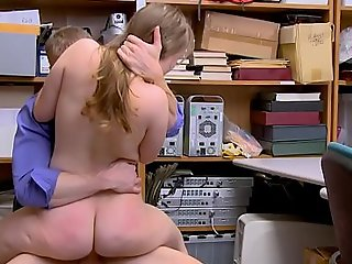 Small Tits Teen Shoplifter With A Juicy Ass Fucked By Mall Flatfoot After Agreement