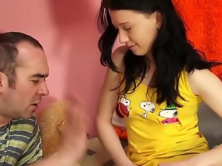 Teenyplayground 18yo inexperienced unwed legal age teenager drilled hard by her aged omnibus