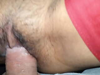 Hairy and tight this permissive indian pussy was fucking concurring