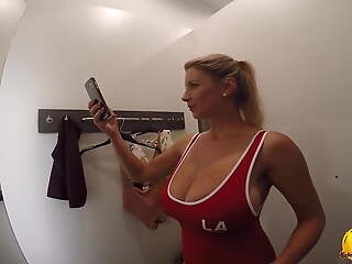 Katerina Hartlova Come with me Shopping together with Changing Room