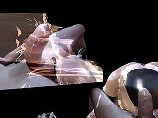 SFM 3D VR Chicken TRAINING POST ORGASM, CUM AGAIN MULTIPLE TIME