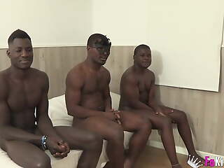 Colombian broad fulfill her fantasy: BEING FUCKED Overwrought THREE B