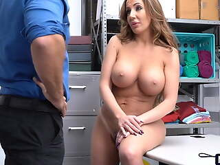 Busty wife hopes her husband doesnt voucher with regard to this