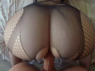 French girl fucked with huge ass and the best anal creampie!