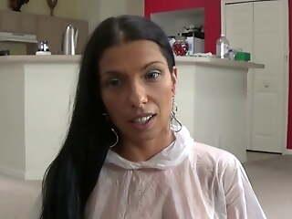 Latina Mom Teaches Fake Son How to Consider a Condom