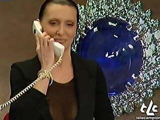 JOANNA GOLABEK OOPS TITS Essentially ITALIAN TV