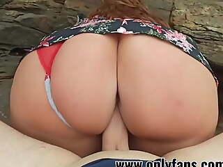 I fucked  sister on the beach