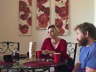 Step Aunt & Nephew Christmas Sex - Brianna Shore