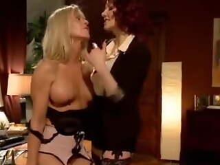 Maitresse Madeline training her pioneering sex maid Simone Sonai