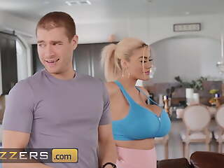 Amber Alena Desperately Wants Her Training Instructor's Big Cock