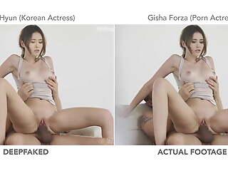 Korean Actress Tape