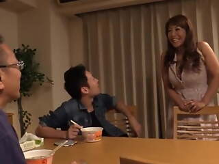 Japanese Mature Mom Gets Fucked by Stepson's Best Collaborate