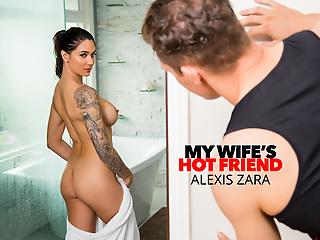 Naughty America - Alexis Zara fucks her omnibus increased by best friend