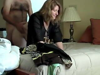 Cheating Wife all over BOSS on Vacation