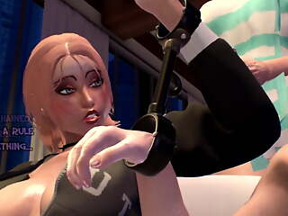 Unseen Story - 3D Shemale MILF fucks Girl, Futa Animation TS