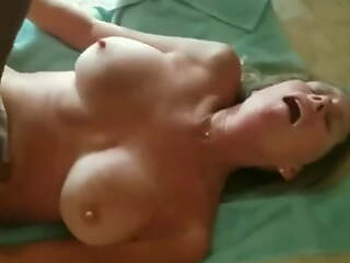 Wife chokes huge black dick