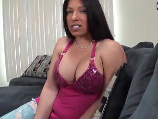 Amateur Mom and Lass have Sex In POV