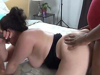 Hotwife Brandi Has Threesome While Hubby Watches