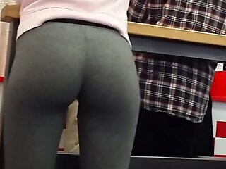 Petite Teen In Tight Ancient Yoga Pants