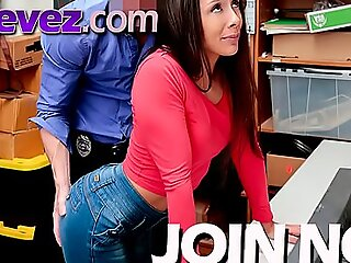 This grotty shoplifter teen is getting what she deserves be expeditious for creature a bad girl.