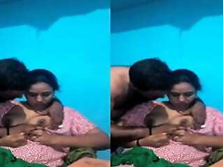 Off colour MAllu Bhabhi Boob Sucking Unconnected with Hubby