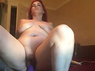 Spreading my fat pussy added to attrition some ass