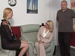 Amelia Jane Rutherford gets punished wide of an angry couple