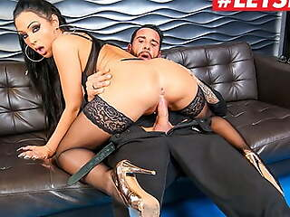 BUMS BUS, Slutty MILF Jacky Gangster Rides Boss At The Office