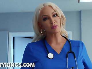 Hot Dr Nicolette Shea Fucks Her Hot Patient India Summer