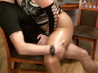 Hot sex in pantyhose