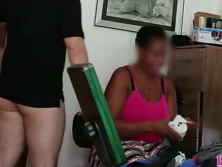 Funereal Freulein mom gets groped and anally fucked by Tocaculos