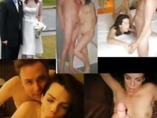Brides dressed, undressed and fucked