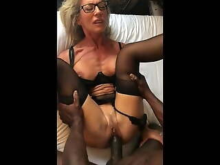 French hotwife gets fucked good by BBC