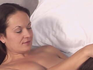 Mature Wife initiates younger woman earn of either sex gay sex