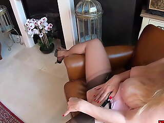 Red XXX and Lucy Gresty are masturbating together