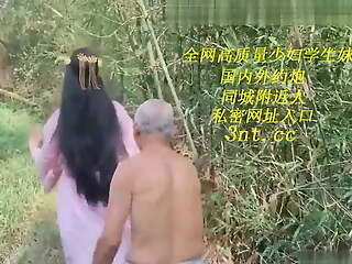 Grey costume, female ghost tempts 70 year venerable farmer