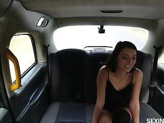 Single horny girl fucked the driver