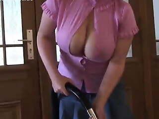 Milena Velba and Angela White. Huge tits addiction, part 1